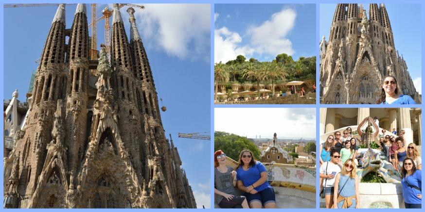 Park Guell and Sagrada Familia